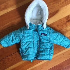 Patagonia baby infant coat size 6 months 3-6months